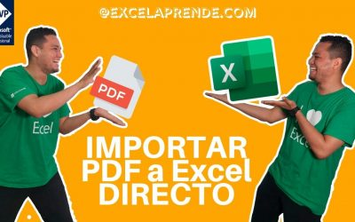 Importar datos desde PDF directo a Excel con Power Query | ExcelAprende